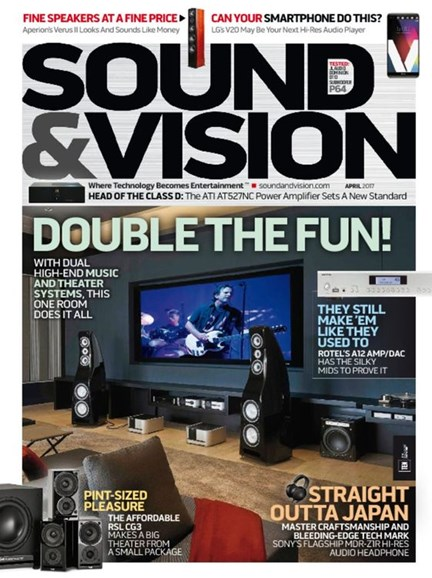 Sound & Vision Cover - 4/1/2017