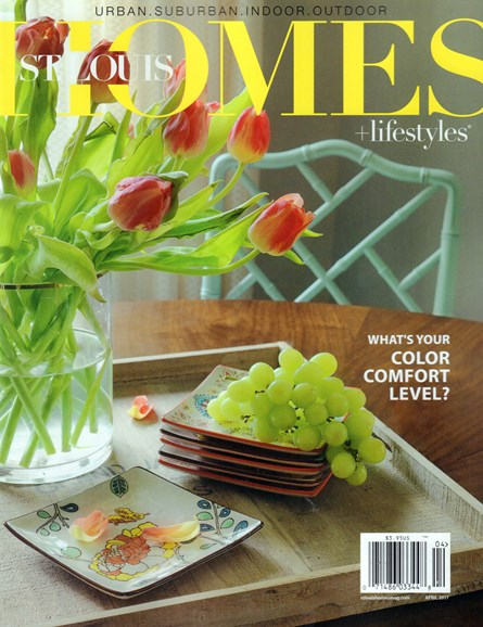 St. Louis Homes & Lifestyles Cover - 4/1/2017