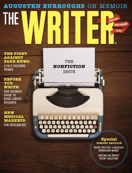 The Writer Cover - 4/1/2017