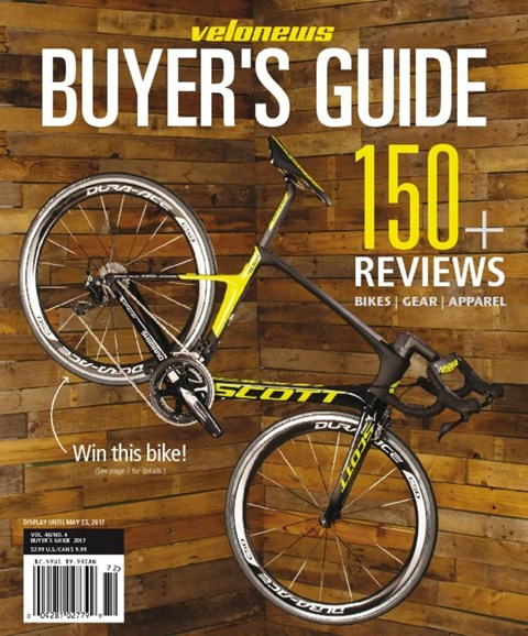 VeloNews Cover - 4/30/2017