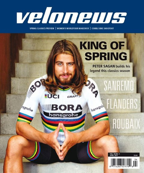 VeloNews Cover - 4/1/2017