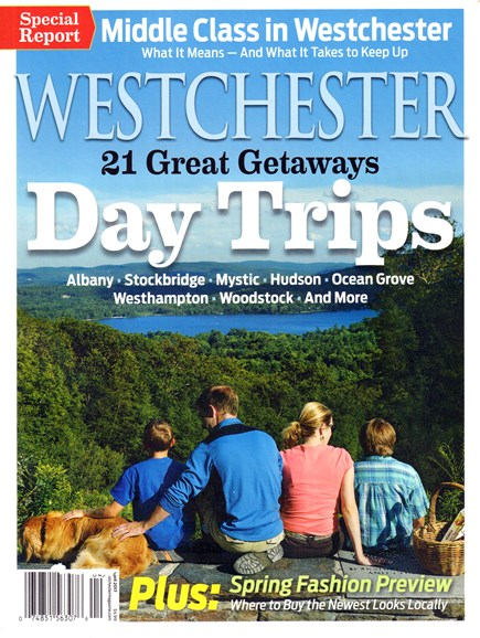 Westchester Magazine Cover - 4/1/2017