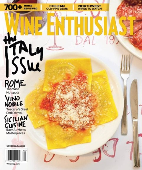 Wine Enthusiast Cover - 4/1/2017