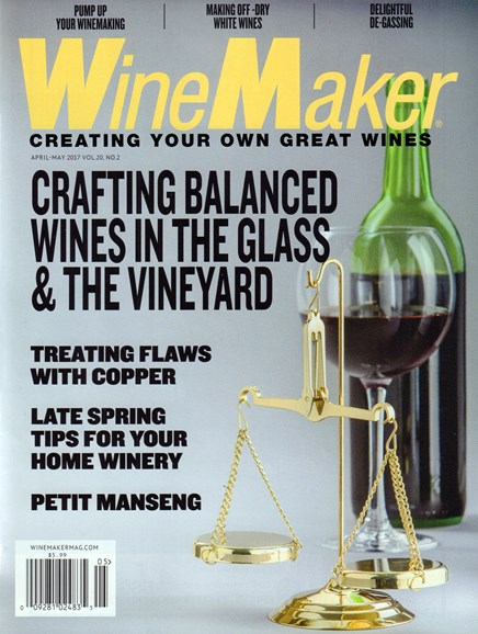 Winemaker Cover - 4/1/2017