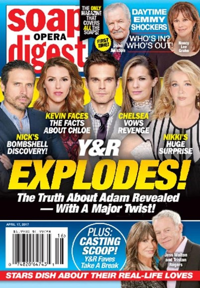 Soap Opera Digest Cover - 4/17/2017