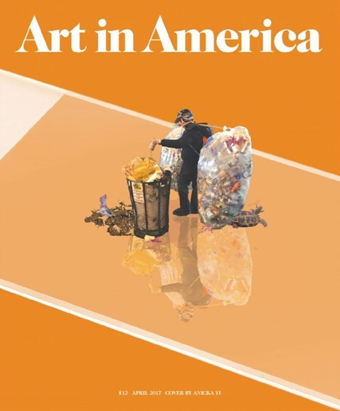 Art In America Cover - 4/1/2017