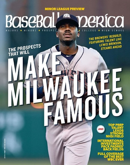 Baseball America Cover - 4/7/2017