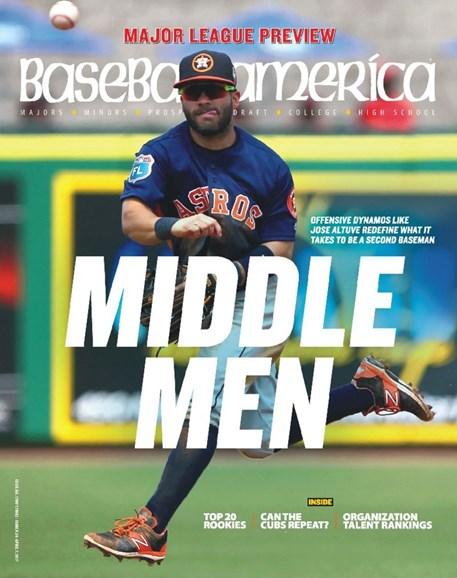 Baseball America Cover - 3/24/2017
