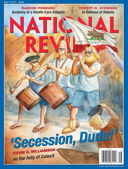 National Review Cover - 4/17/2017
