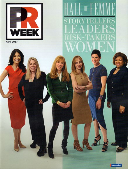 PRWeek Cover - 4/1/2017