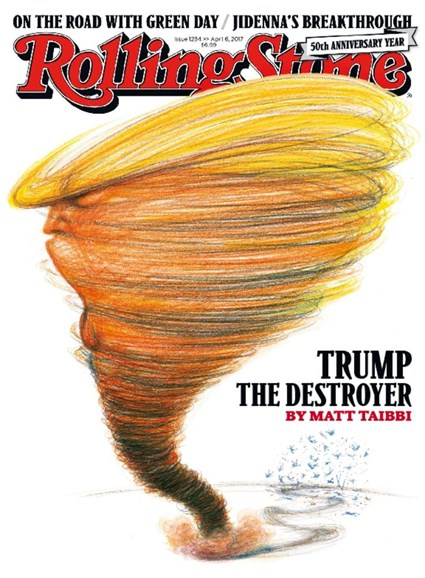 Rolling Stone Cover - 4/6/2017