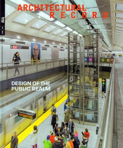 Architectural Record Cover - 4/1/2017