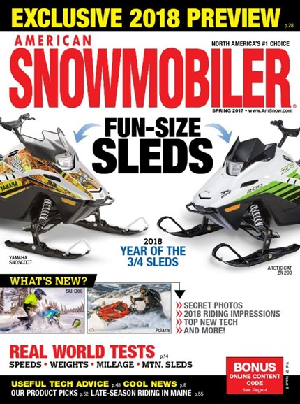 American Snowmobiler Cover - 3/1/2017