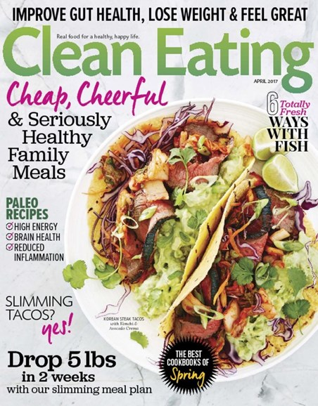 Clean Eating Cover - 4/1/2017