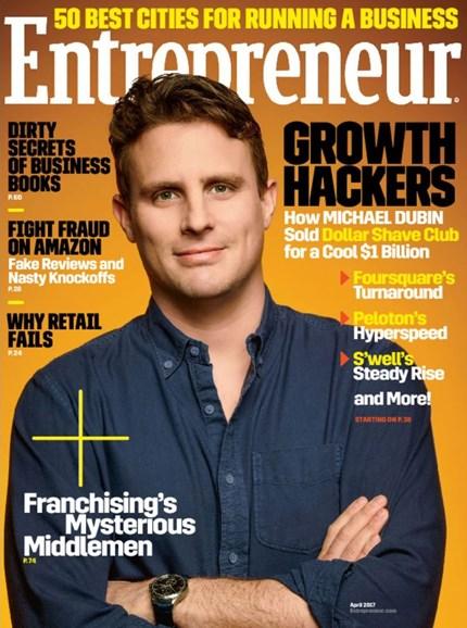 Entrepreneur Cover - 4/1/2017