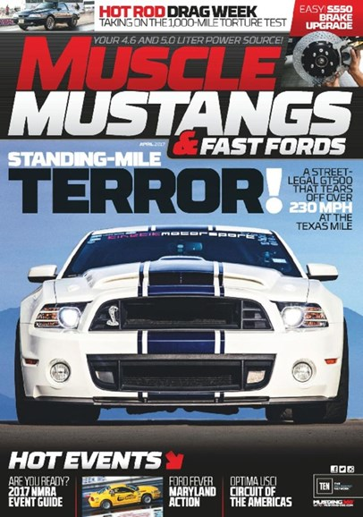 Muscle Mustangs & Fast Fords Cover - 4/1/2017