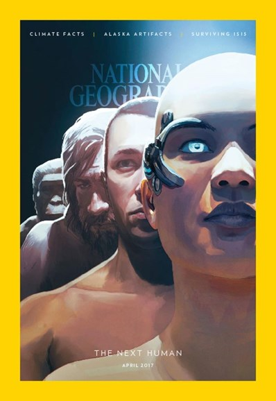 National Geographic Cover - 4/1/2017