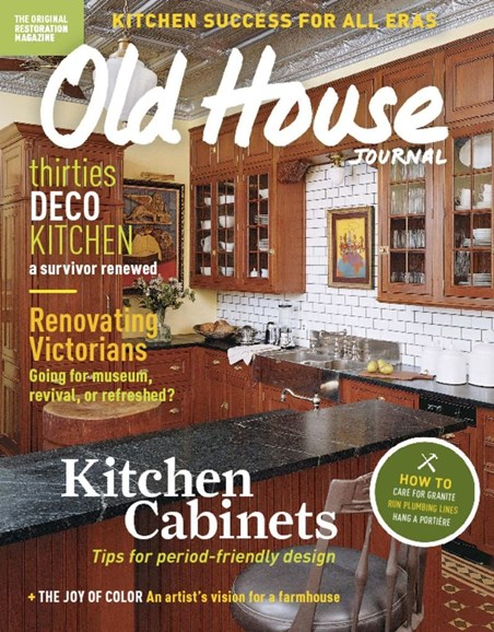 Old House Journal Cover - 3/1/2017