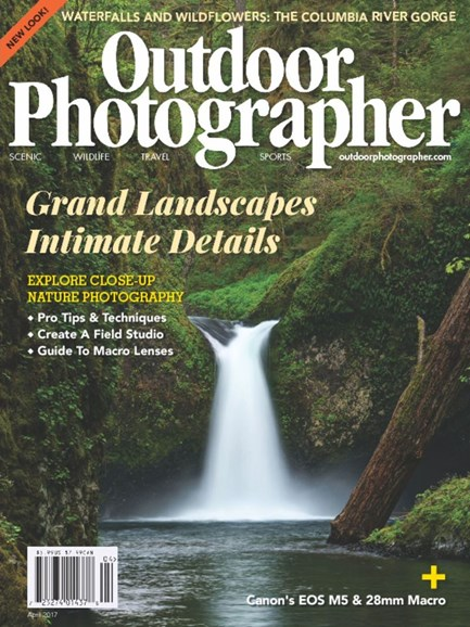 Outdoor Photographer Cover - 4/1/2017