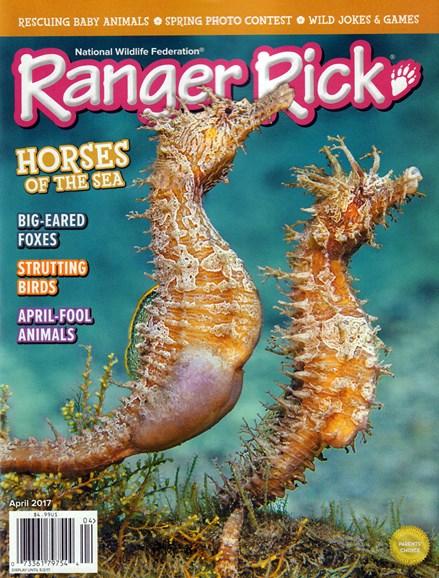 Ranger Rick Cover - 4/1/2017