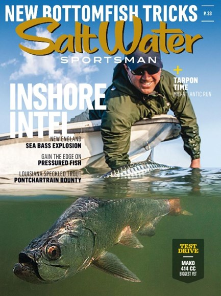 Salt Water Sportsman Cover - 4/1/2017