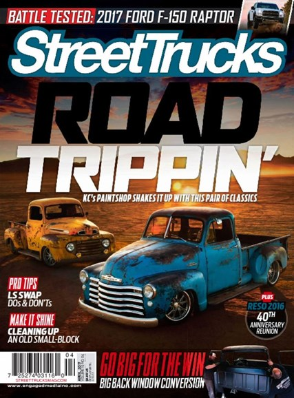 Street Trucks Cover - 4/1/2017