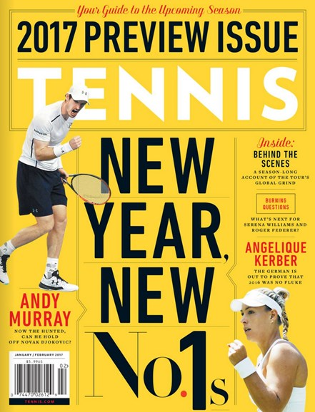Tennis Magazine Cover - 1/1/2017