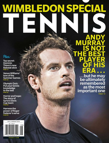 Tennis Magazine Cover - 7/1/2016