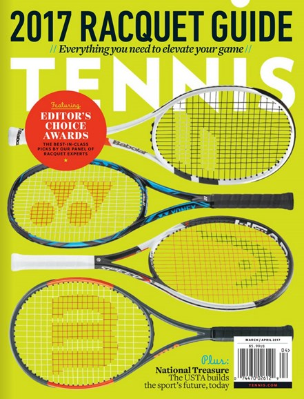 Tennis Magazine Cover - 3/1/2017