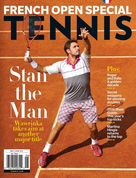 Tennis Magazine Cover - 5/1/2016