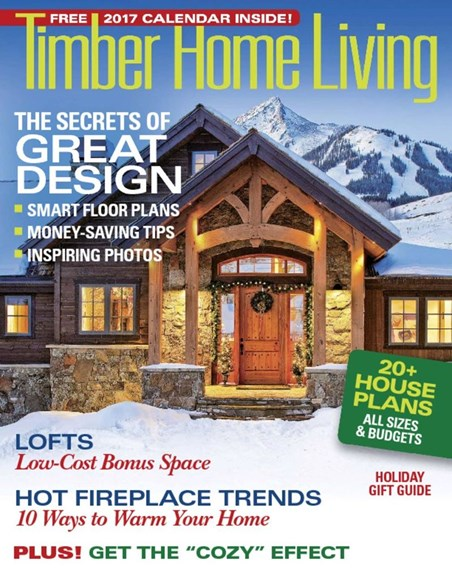 Timber Home Living Cover - 11/1/2016