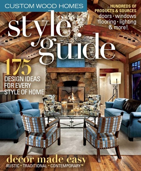 Timber Home Living Cover - 2/1/2015
