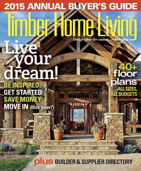 Timber Home Living Cover - 1/1/2015