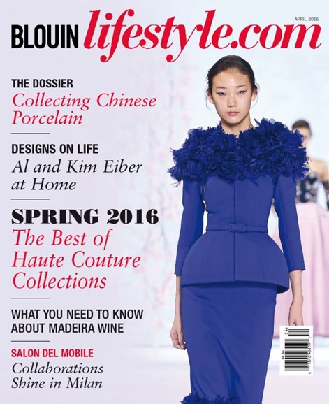 Blouin Lifestyle Cover - 4/1/2016