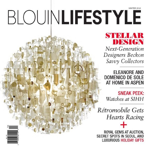 Blouin Lifestyle Cover - 12/1/2016