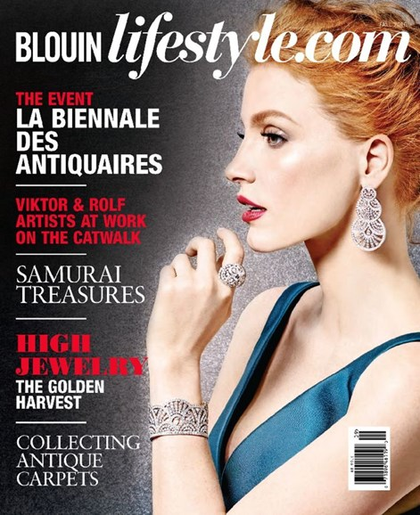 Blouin Lifestyle Cover - 9/1/2016