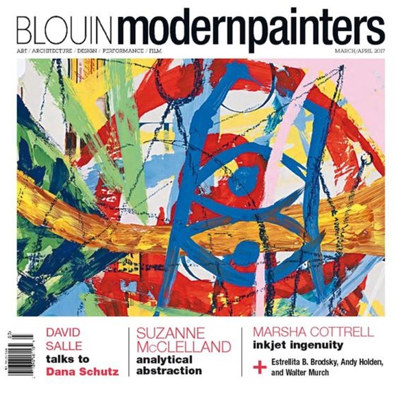Blouin Modern Painters Cover - 3/1/2017