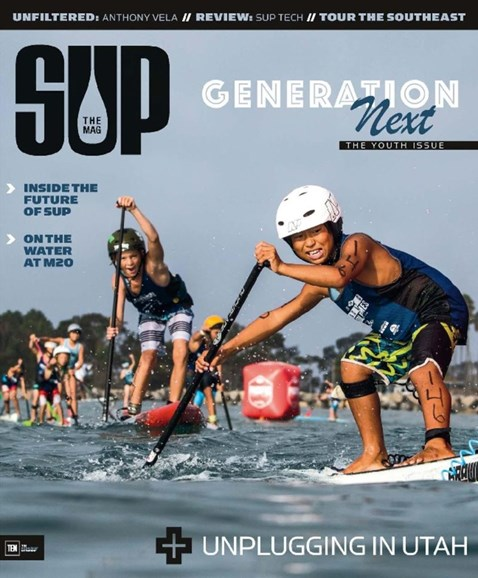 SUP Magazine Cover - 3/1/2017