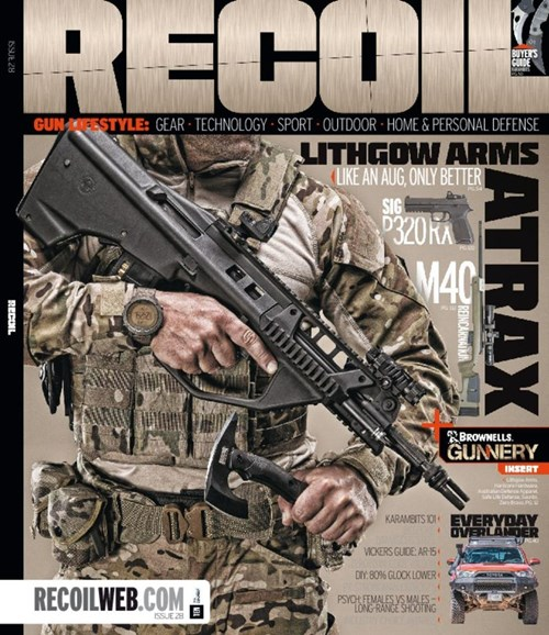 Recoil Cover - 1/1/2017