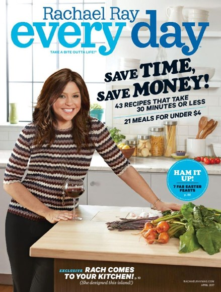 Rachael Ray Every Day Cover - 4/1/2017