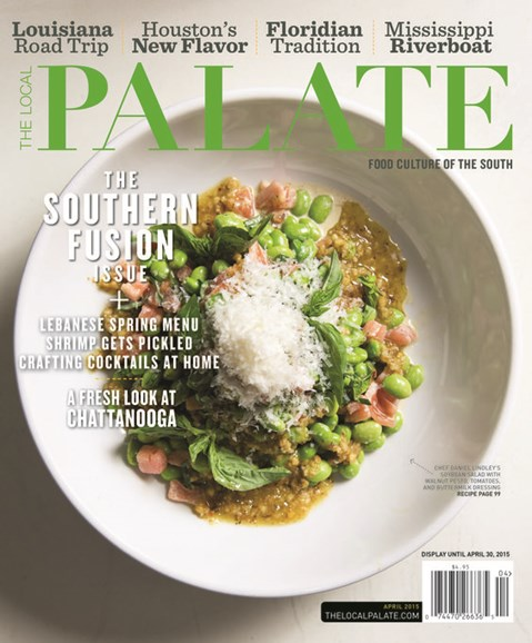 The Local Palate Cover - 4/1/2015