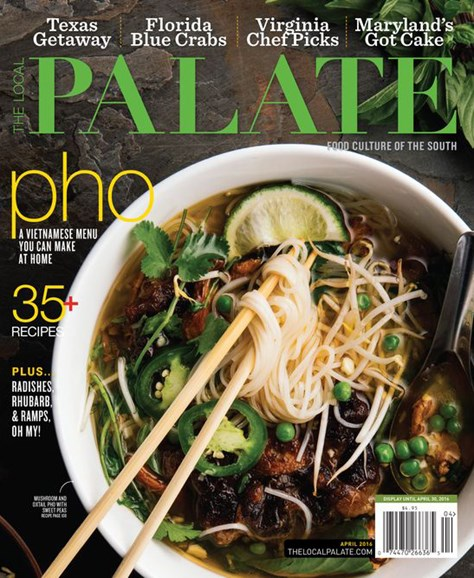 The Local Palate Cover - 4/1/2016
