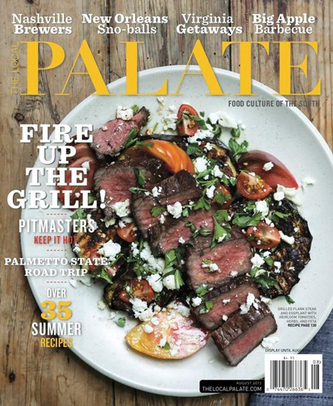 The Local Palate Cover - 8/1/2015