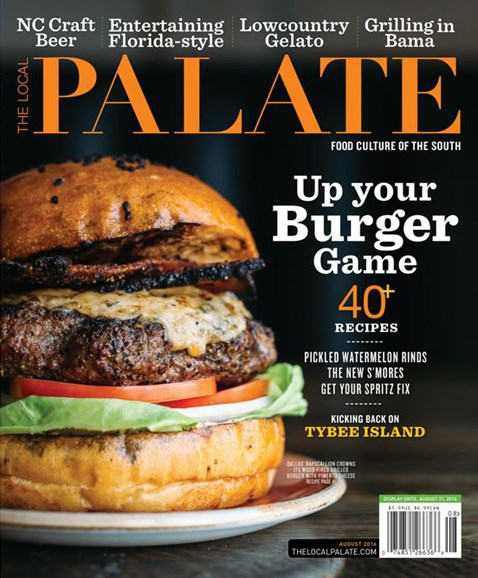The Local Palate Cover - 8/1/2016