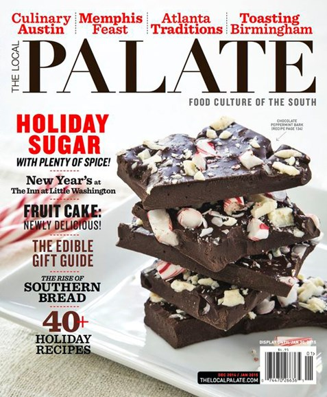 The Local Palate Cover - 12/1/2014