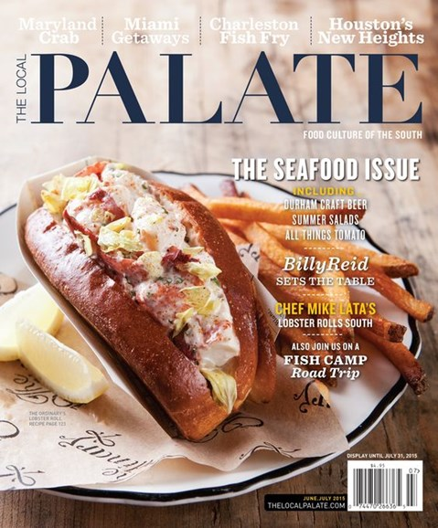 The Local Palate Cover - 6/1/2015