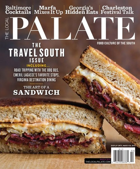 The Local Palate Cover - 3/1/2015