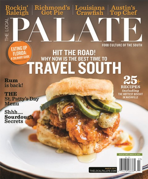 The Local Palate Cover - 3/1/2016
