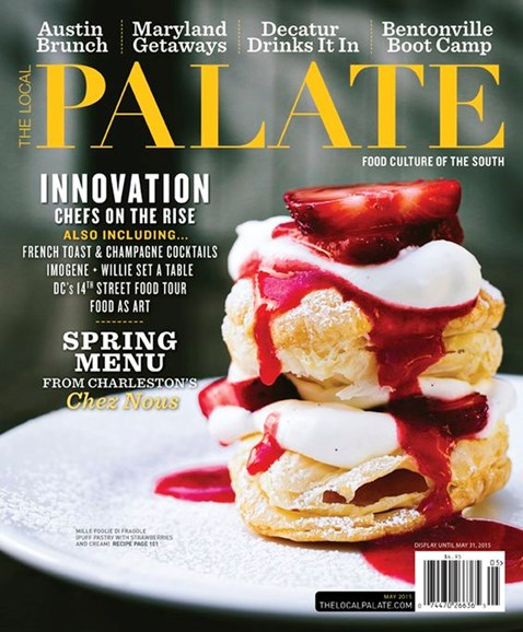The Local Palate Cover - 5/1/2015