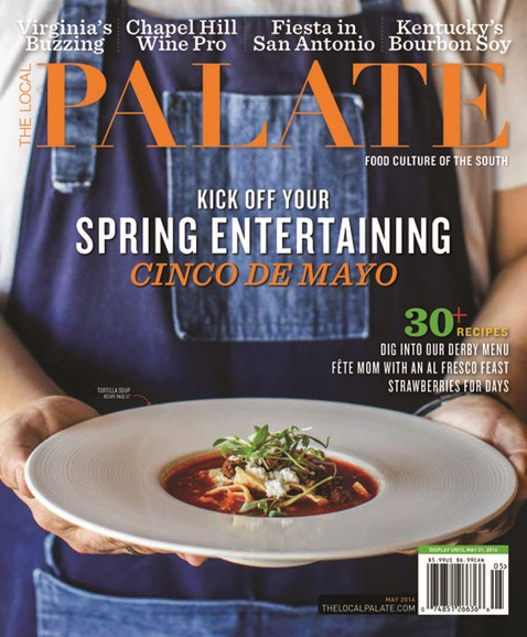 The Local Palate Cover - 5/1/2016